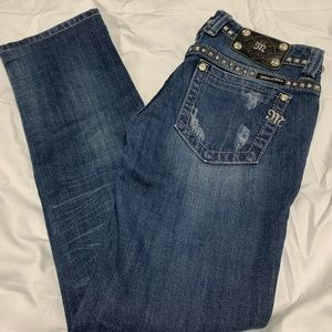 Miss Me Jeans Straight 26x28